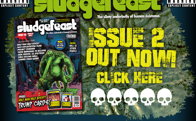 Sludgefeast - A new digital magazine for the 21st Century