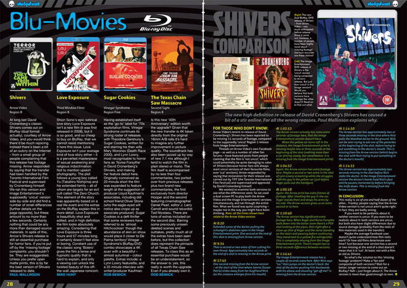 Blu Movies feature in Sludgefeast issue two